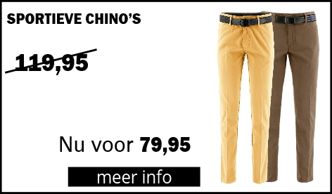 Henk ter Horst Sportieve Chino's