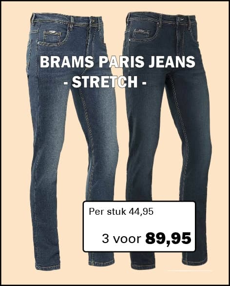 Henk ter Horst Brams Paris Jeans