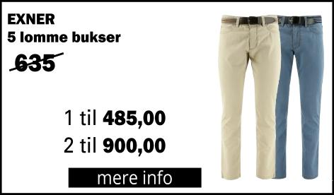 5 lomme bukser