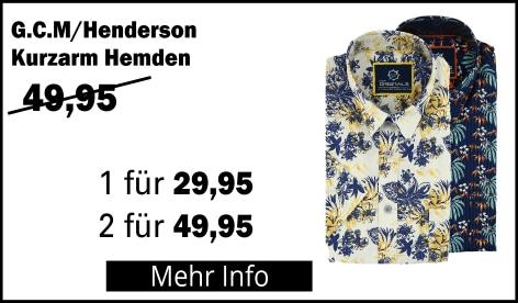 GCM Henderson Kurzarm Hemden