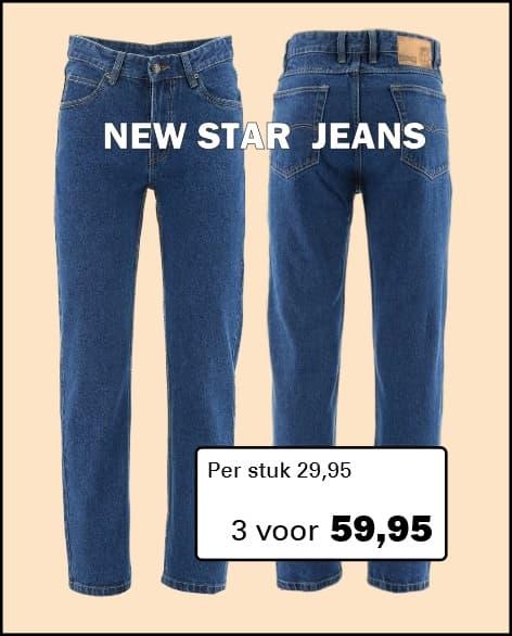 Henk ter Horst New Star Jeans