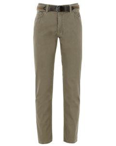 Exner broek 5 pocket heren beige