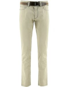 Exner 5 pocket heren broek licht beige