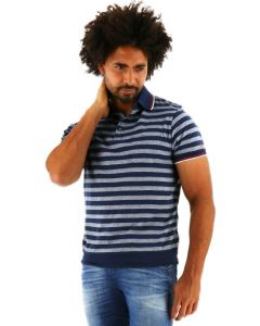 Chris Cayne regular fit poloshirt korte mouw zwart