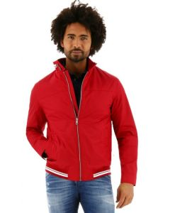 S4 korte zomerjas regular fit rood