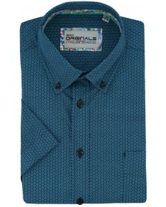 Gcm Originals overhemd big men fit circle green