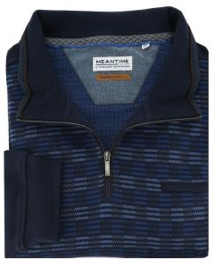 Meantime big men pullover blauw