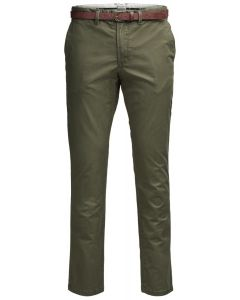 Jack & Jones chinobroek JJCody olijfgroen