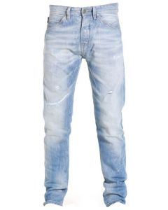 Jack en Jones Erik Tristan, denim licht blauw