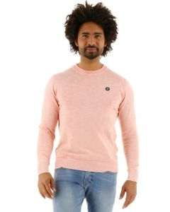 Jack & Jones Sly Knit Crew Neck trui rosette roze.