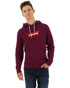 Levi's hooded sweater paars/rood