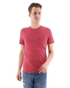 Levi's Sunset pocket T-shirt, rood