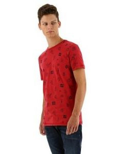 Kultivate pinup comic t-shirt rood