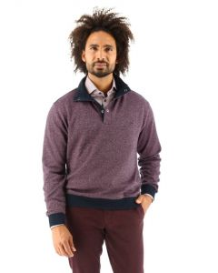 Baileys pullover wijnrood