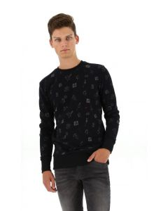 Kultivate pullover pinup comic black