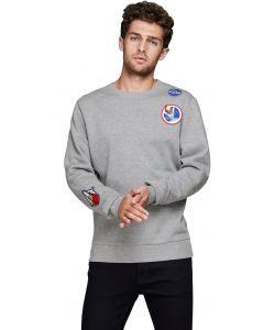 Jack & Jones Jornasa sweater grijs