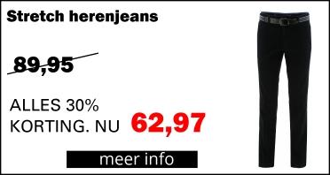 Henk ter Horst Heren Jeans Stretch